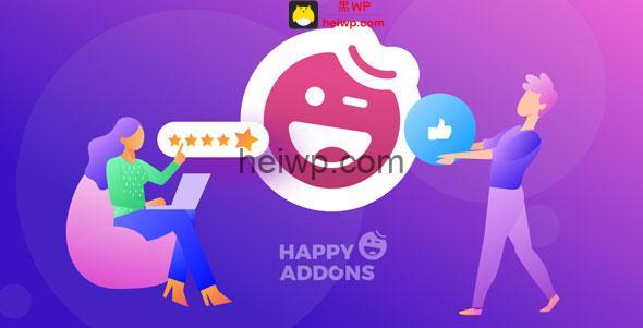 【免费下载】Happy Elementor Addons Pro Elementor插件扩展Pro版 - v1.9-黑WP