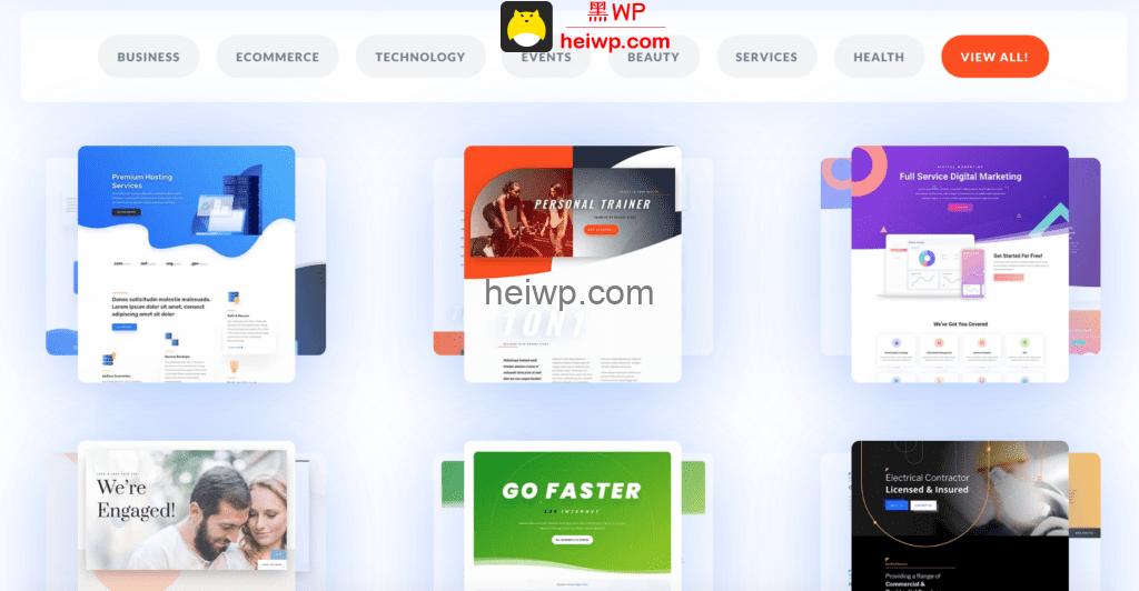 Divi 对比 Elementor:哪种WordPress可视化编辑器插件更适合你?-黑WP